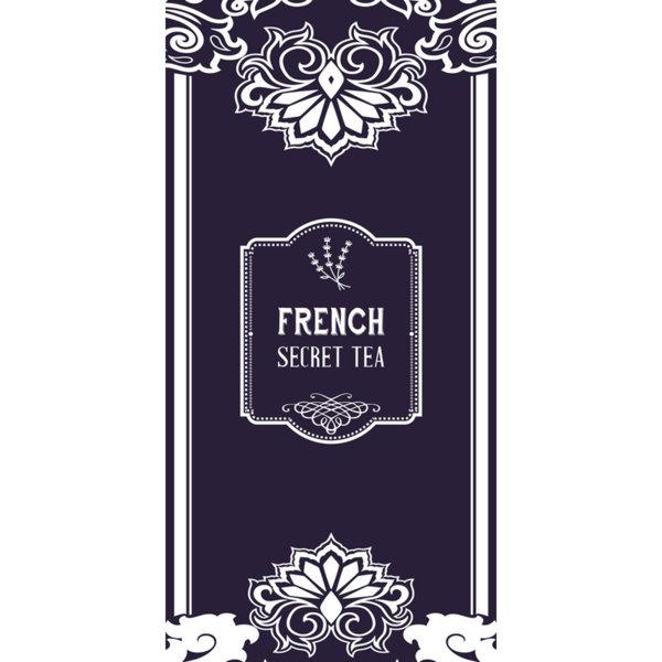 Луксозна олекотена кърпа за плаж French secret tea